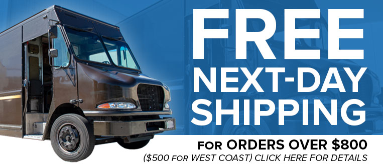Free Next-Day Shipping