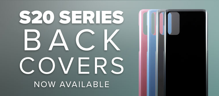 Galaxy S20 Series Back Covers - Now in Stock