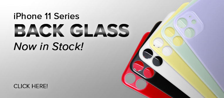 iPhone 11 Series Back Glass in Stock