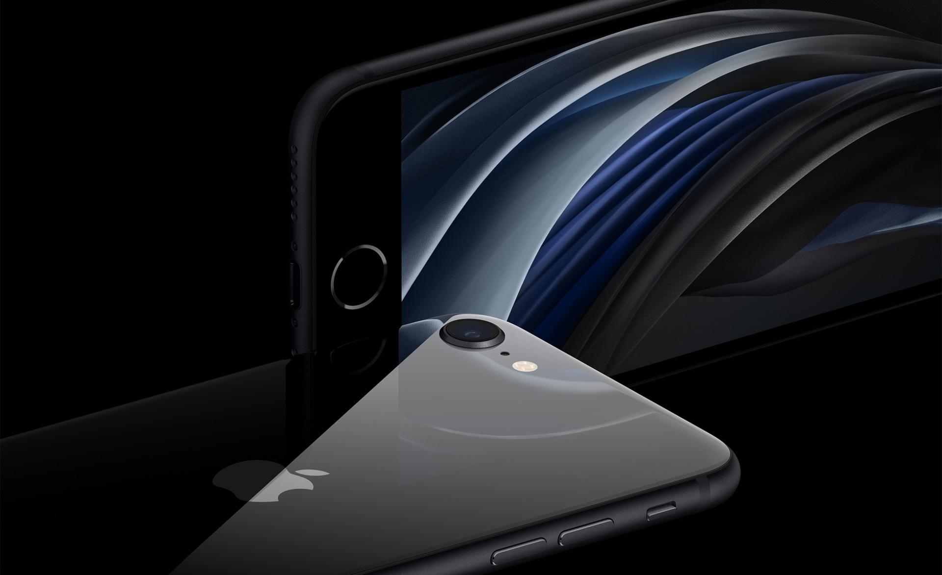 iPhone SE Closeup