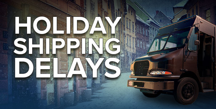 Shipping Delays Banner