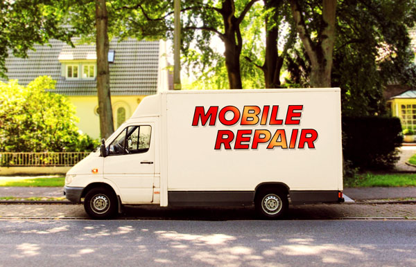 Mobile Repair Truck in the Heat