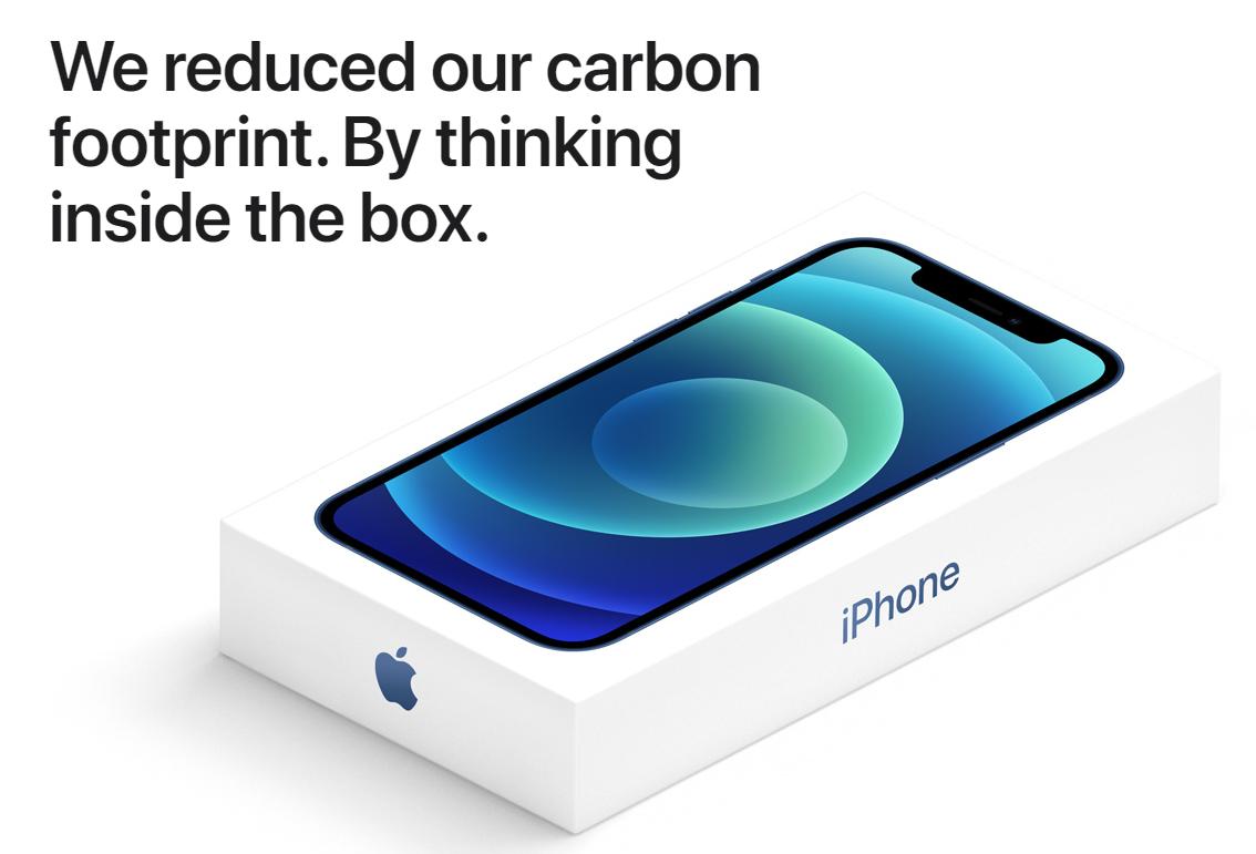 iPhone 12 Box Marketing Image