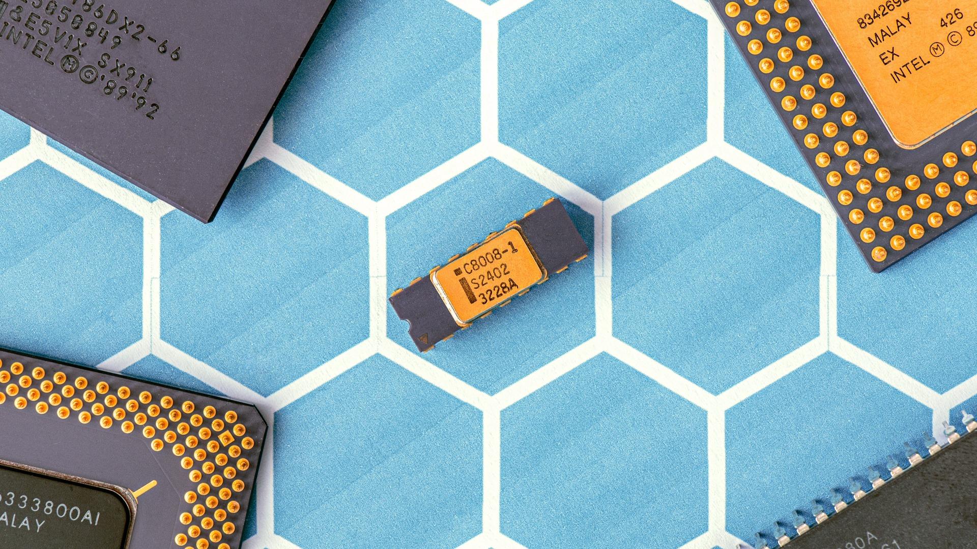 Assorted Microchips